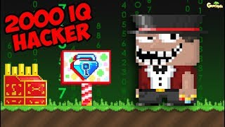 Meet a 2000 IQ Hacker on Carnival Game (GOT BANNED!!?!) | GrowTopia