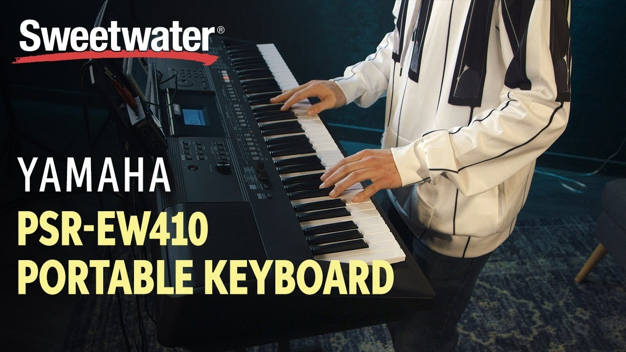 Yamaha PSR-EW410 76-key Portable Keyboard | Sweetwater