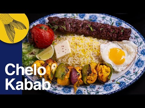 Chelo Kabab Peter Cat Favourite Tehdig Jujeh Chicken And
