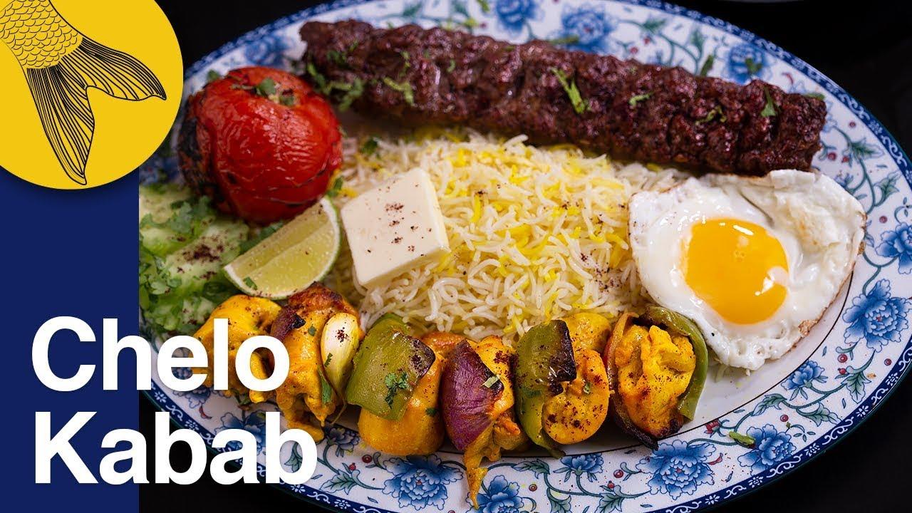 Chelo Kabab Peter Cat Favourite Tehdig Jujeh Chicken And Koobideh Lamb Keema Kabab Pujo Special