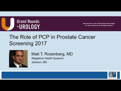 The Role PCP in Prostate Cancer Screening