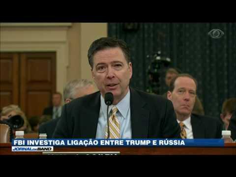 FBI investiga ligação entre equipe de Trump e a Rússia