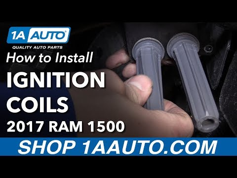 How to Replace Ignition Coils 11-17 Ram 1500