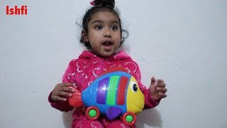 Ishfi Pretend Play with Music Guiter and Big Shark Fish