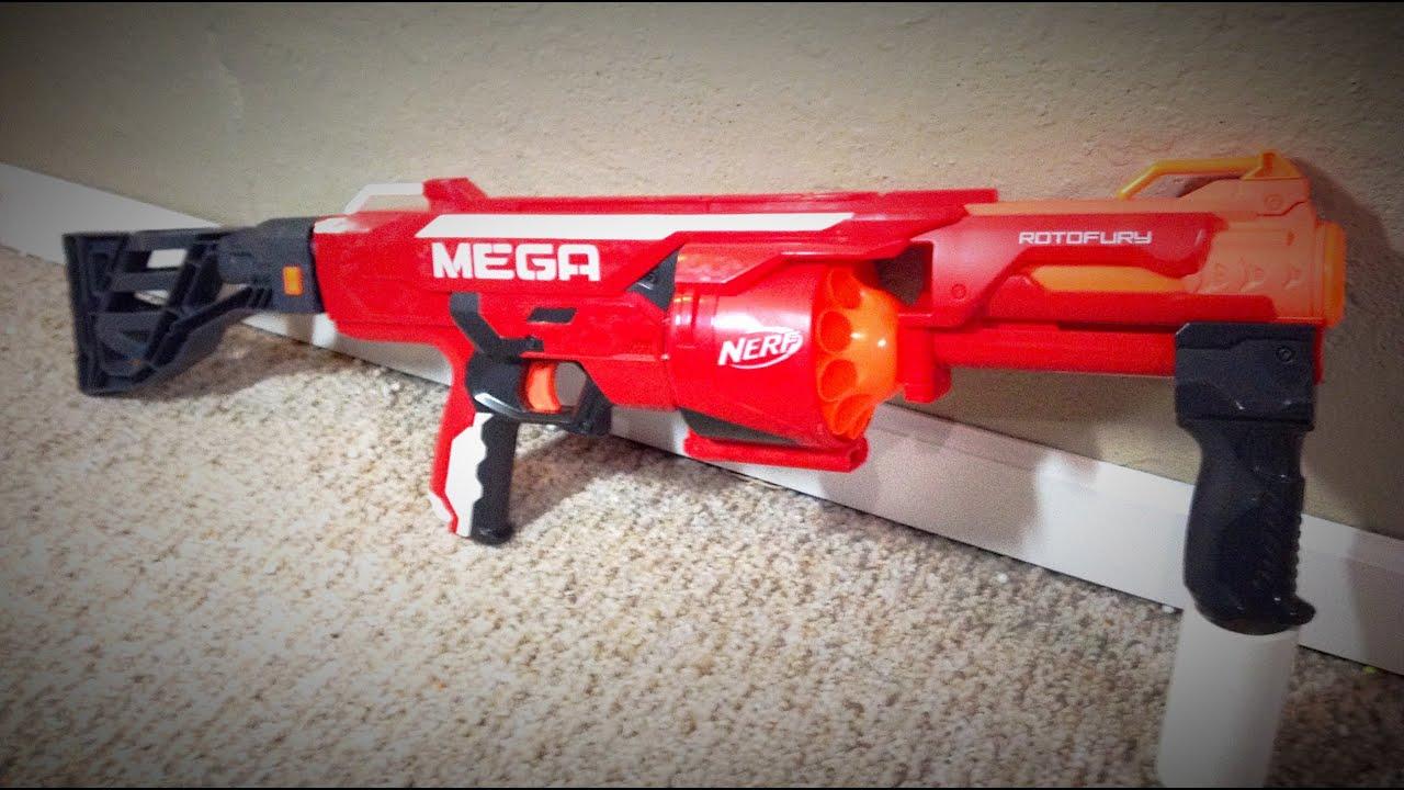 MOD Nerf Mega Rotofury Stock Adapter Mod
