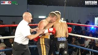 MICHAEL FEFERA (PRO DEBUT) VS ZAC THOMPSON - BBTV - BATESON PROMOTIONS LEEDS