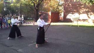 """Japan Fest 5 - kyudo w wykonaniu Szczecińskiego Klubu Hakko Den Shin Ryu Ju Jutsu """"Kokoro"""""""