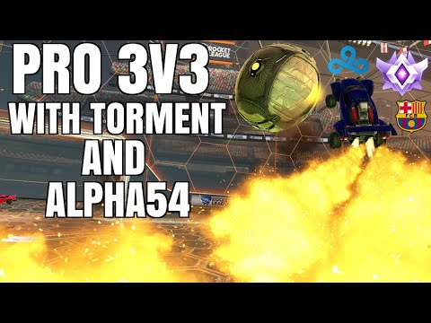 FC BARCELONA SIGNED A ROCKET LEAGUE TEAM?   INSANE PASSING PLAY   PRO 3V3 WITH TORMENT AND ALPHA thumbnail