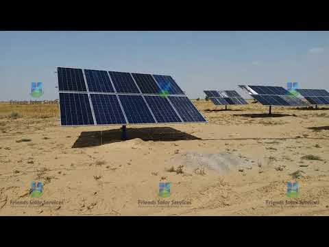 2ND 40 HP 6 INCH DELIVERY SOLAR POWERED TURBINE  SOLAR TURBINE KHAIRPUR TAMIWALI  FRIENDS SOLAR®