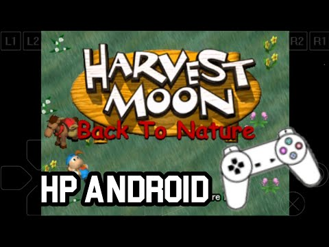 (TUTORIAL) Cara Pasang Game HARVEST MOON Back To Nature Di HP Android