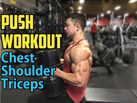 Push Day - Chest, Shoulders, Triceps | MV 3.05