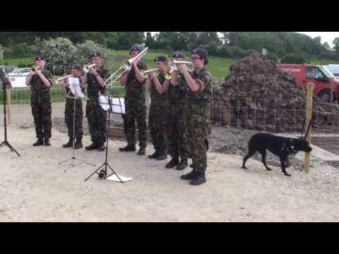 Abide With Me - 1082 Squadron ATC - Chesterfield Canal Trust 2016