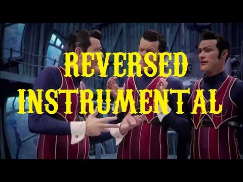 We are number one but the instrumental is reversed