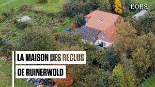Survol de la maison où des personnes vivaient recluses depuis 9 ans en Hollande
