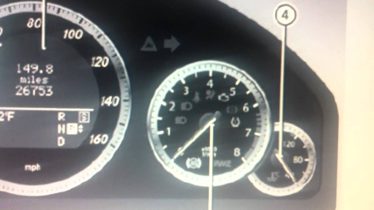 Mercedes E Class W212 Dashboard Warning Lights Symbols What They Mean