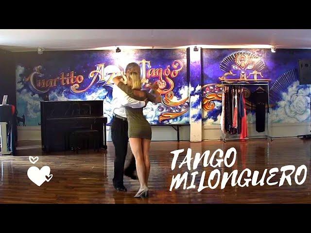 Baile de tango milonguero, Angela Baciu, Carlos Neuman, Cuartito azul, Zurich, Banco Macro, Mecenazg
