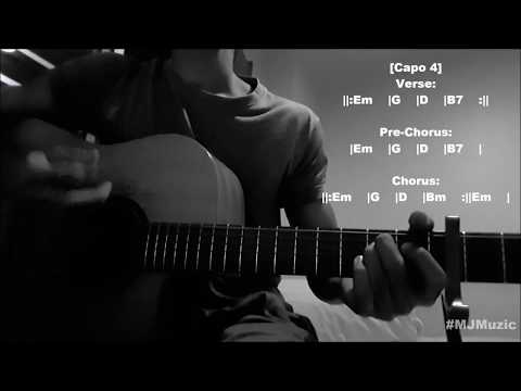 The Champion  Carrie Underwood feat Ludacris  Guitar Chords Tutorial  MJ