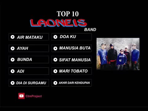 LaoNeis band - TOP 10 SINGGLE HITS