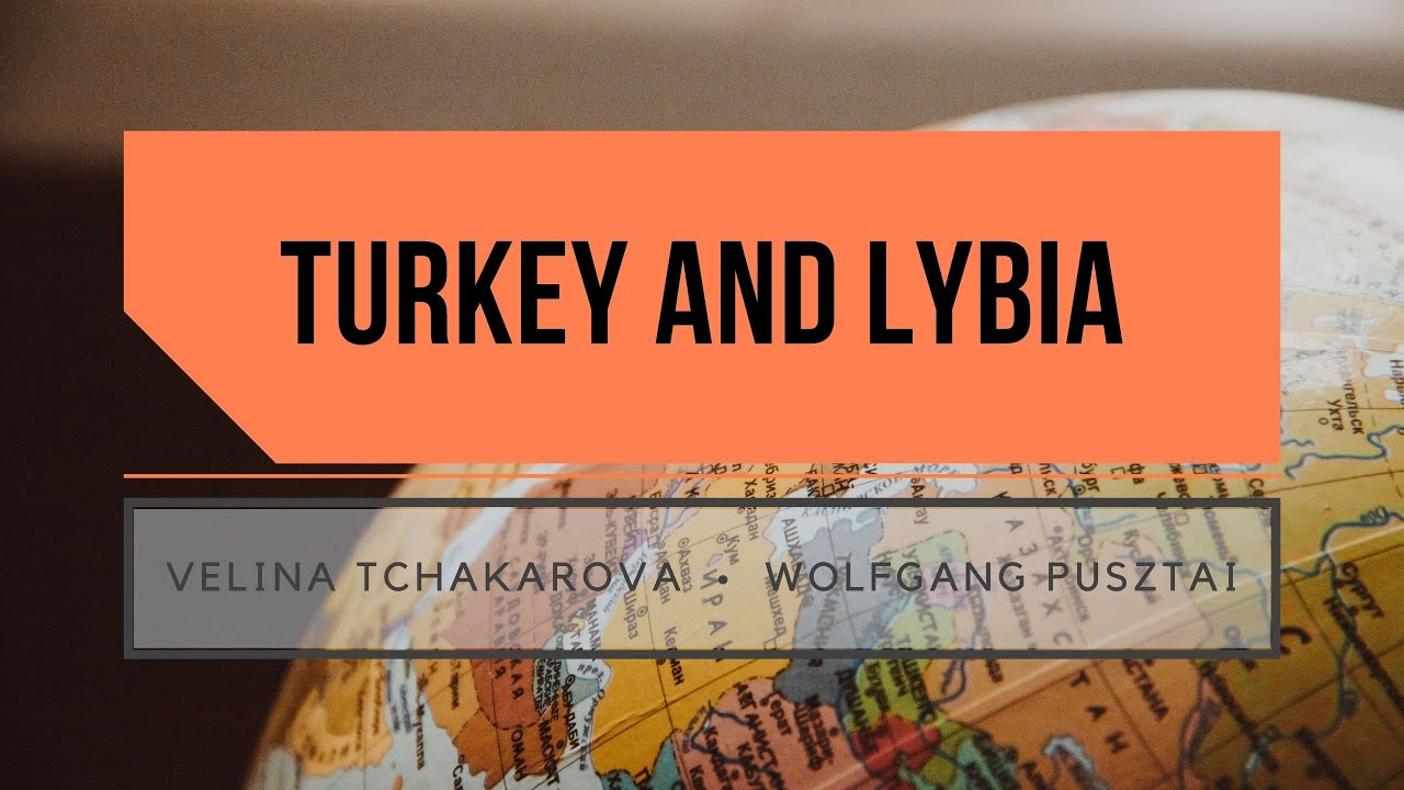 My interview with Wolfgang Pusztai on Turkey and Libya