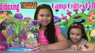 Unboxing Trolls Camp Critter Pod