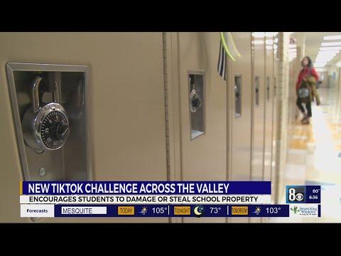 Destructive 'devious licks' TikTok challenge a problem at some valley schools