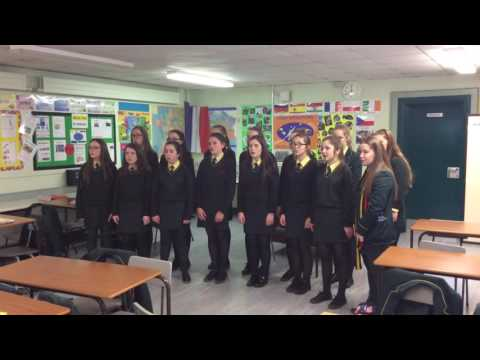 Year 10 sing 'Silent Night' in French