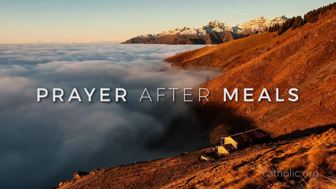 Prayer After Meals HD