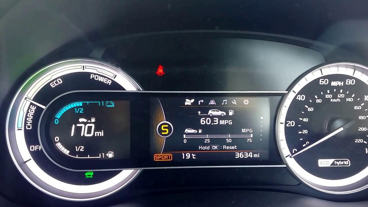 2017 Kia Niro 2 Hybrid Acceleration