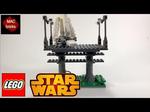 LEGO STAR WARS Mini MOC Monday: Endor Landing Platform! Polybag Shuttle 30246