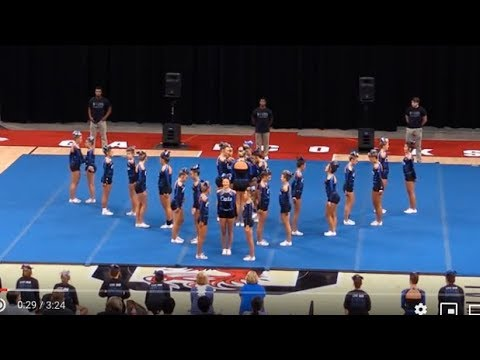 Lexington High competes in high school competitive cheer championship