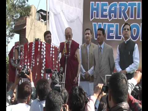 His Holiness the Dalai Lama Visits Jammu 2011