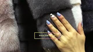 видео Норковые шубы поперечка