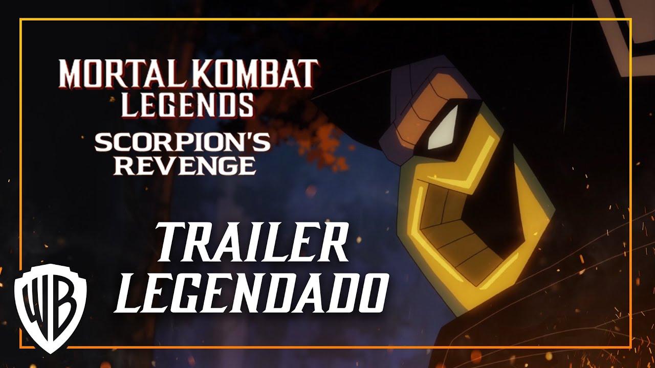 Mortal Kombat Legends: A Vingança de Scorpion (Trailer Legendado PT-BR)