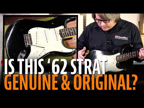 Unique Vintage Fender Stratocaster Reference - 20 first
