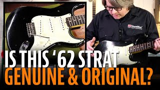 Is this '62 Strat genuine and all original?