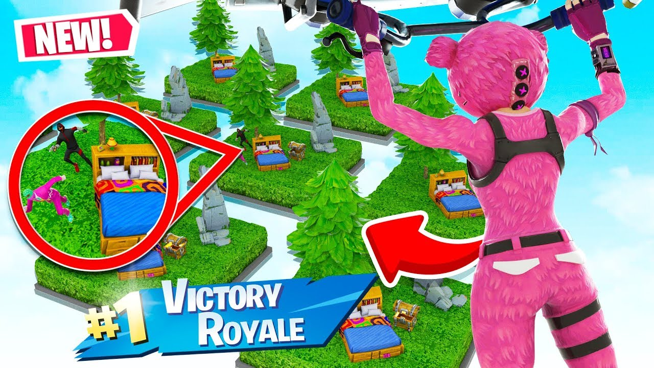 MINECRAFT BED WARS in FORTNITE...