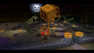 2 Command Halloween decoration creation! (Happy Halloween!) | Minecraft |