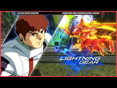 GUNDAM VERSUS @ EVO - Top 8 Finals | PS4