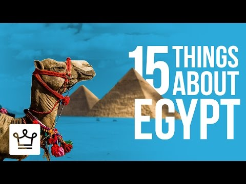 15 Things You Didn't Know About Egypt