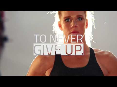 Hi-Tech Athlete Holly Holm:  Never Give Up
