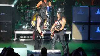 "Slash & Todd Kerns, ""Doctor Alibi"", Hard Rock, Van, Aug./14"