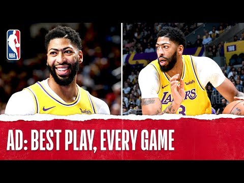 Anthony Davis' Best Plays From Every Game