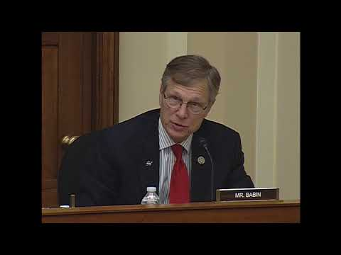 "Rep. Babin's Q&A on ""Department of Energy: Management and Priorities"""