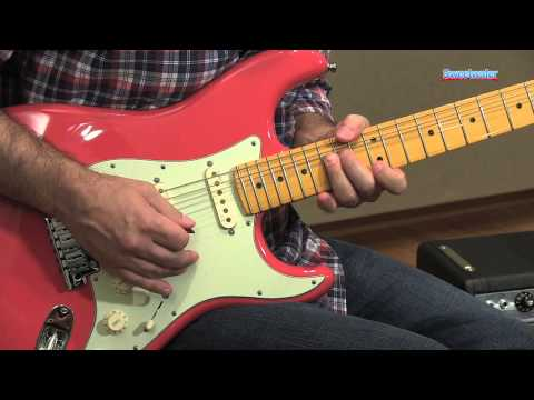 Fender American Deluxe Strat V Neck Guitar Demo - Sweetwater Sound