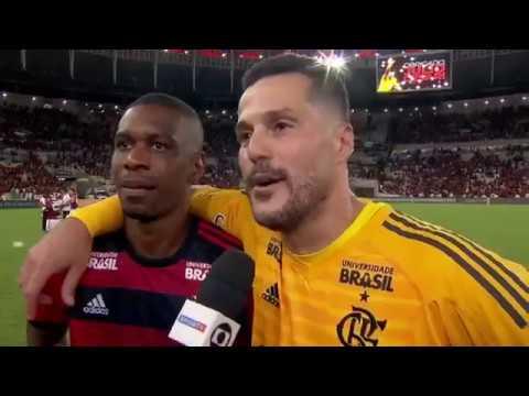 Despedida Julio Cesar - Entrevista depois da última partida (Flamengo x América-MG)