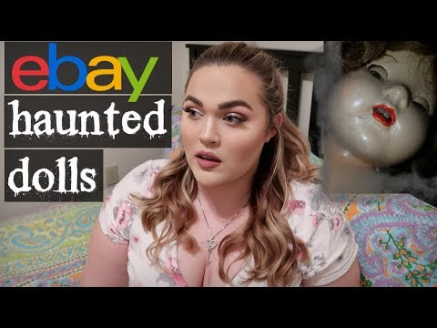 Most HAUNTED Dolls Ever Sold on Ebay... *SCARY*