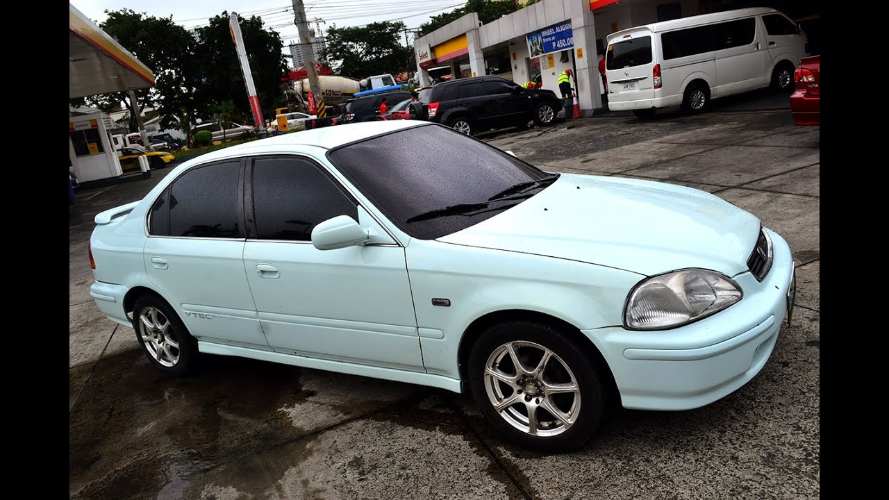 97 honda civic ek vti for sale pearl youtube