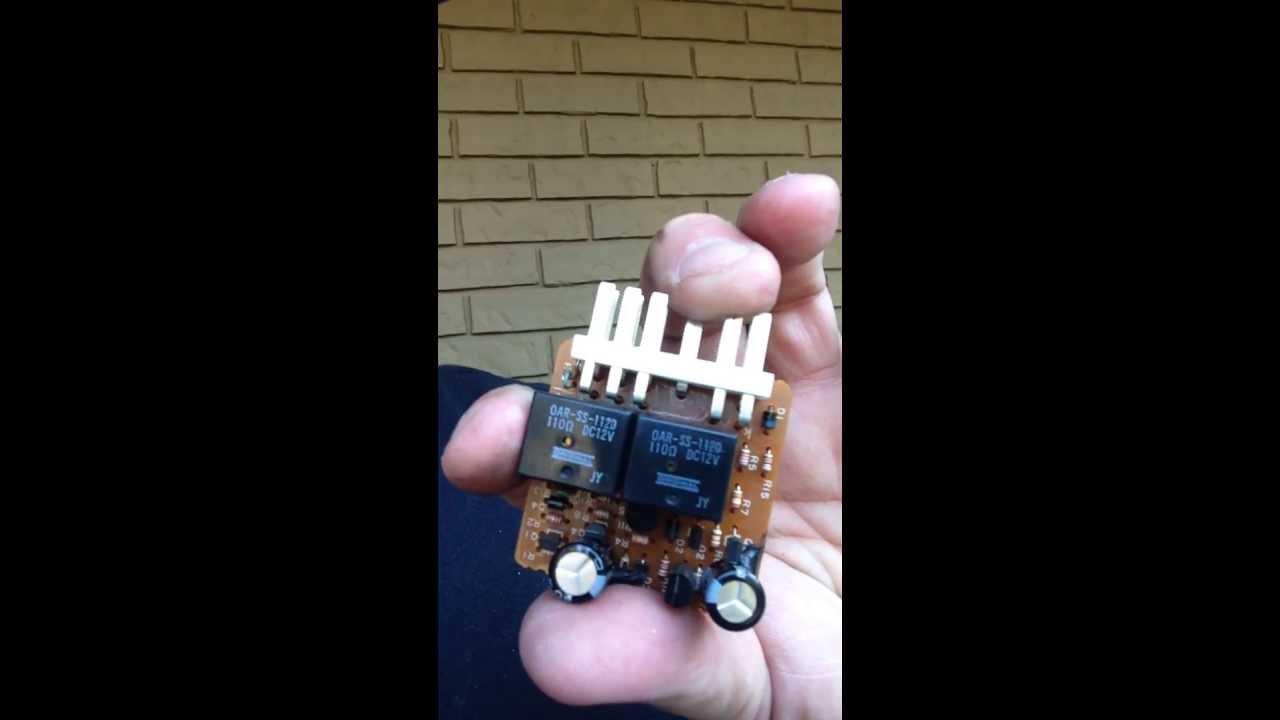 Code 3 Flasher Wiring Diagram 1991 1996 Ford Escort Wiper Motor Fix Youtube