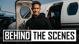 ✈️William Saliba's journey to Arsenal | 🅰️ 🅰️ 🅰️Access all areas