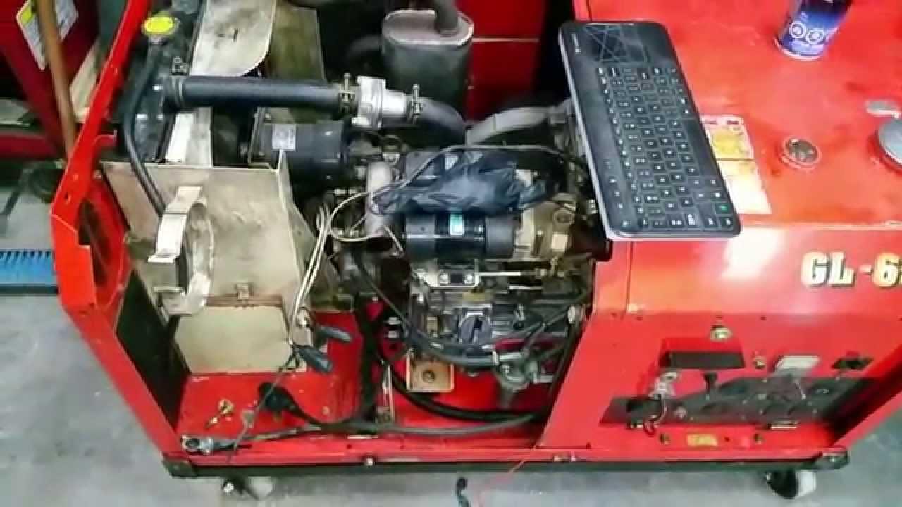 hight resolution of kubota gl6500 generator repair